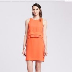 Banana Republic | Coral Shift Dress